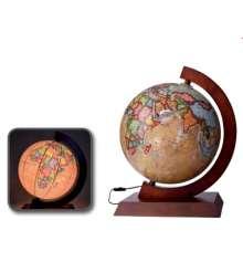 Глобус 320 ретро, с подсветкой купить в интернет магазине подарков ПраздникШоп