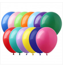 """Воздушные шары """"Ассорти"""", 10' купить в интернет магазине подарков ПраздникШоп"""