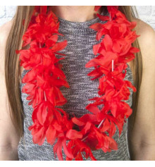 """Гавайские леи """"Гибискус"""", (красные) купить в интернет магазине подарков ПраздникШоп"""
