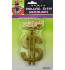 """Кулон с цепью """"$"""" купить в интернет магазине подарков ПраздникШоп"""