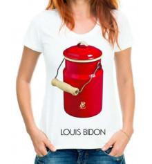 """Футболка с принтом женская """" LOUIS BIDON"""" купить в интернет магазине подарков ПраздникШоп"""
