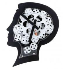 """Часы Gear clock """"Голова"""" купить в интернет магазине подарков ПраздникШоп"""