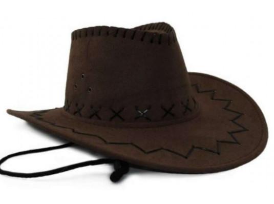 Шляпа «Ковбоя» (замша, 4 цвета) купить в интернет магазине подарков ПраздникШоп