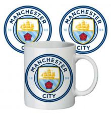 """Чашка """"Манчестер Сити"""" купить в интернет магазине подарков ПраздникШоп"""