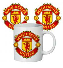 """Чашка """"Манчестер Юнайтед"""" купить в интернет магазине подарков ПраздникШоп"""