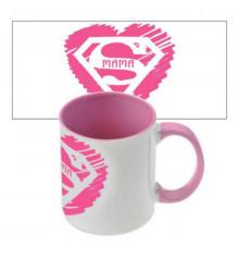 """Чашка """"Супер мама"""" купить в интернет магазине подарков ПраздникШоп"""