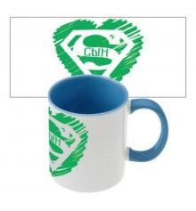 """Чашка """"Супер сын"""" купить в интернет магазине подарков ПраздникШоп"""