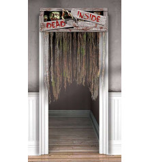 """Декорация на дверь """"Dead inside"""" купить в интернет магазине подарков ПраздникШоп"""