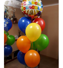 """Композиція """"Гелієві кульки"""" купить в интернет магазине подарков ПраздникШоп"""