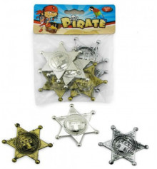 Значок Пирата (уп. 6шт) купить в интернет магазине подарков ПраздникШоп