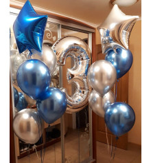 Гелиевые шары № 26 купить в интернет магазине подарков ПраздникШоп