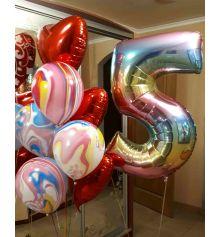 Гелиевые шары № 24 купить в интернет магазине подарков ПраздникШоп