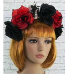 Украшение на голову Хэллоуин Морриган купить в интернет магазине подарков ПраздникШоп