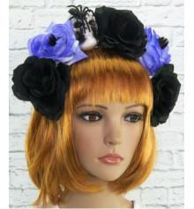 Украшение на голову Хэллоуин Геката купить в интернет магазине подарков ПраздникШоп