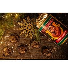 """Шоколадный набор """"Новогодняя тушенка купить в интернет магазине подарков ПраздникШоп"""