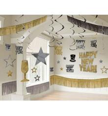 """Декор-комплект """"Happy New Year Hollywood"""" купить в интернет магазине подарков ПраздникШоп"""