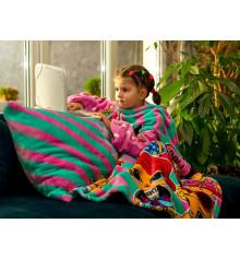 """Плед с рукавами из микрофибры """"Lol"""" (детский) купить в интернет магазине подарков ПраздникШоп"""