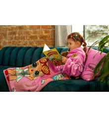 """Плед с рукавами из микрофибры """"Lolmono"""" (детский) купить в интернет магазине подарков ПраздникШоп"""