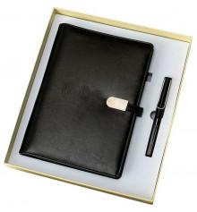 """Ежедневник """"Universal Book"""", черный купить в интернет магазине подарков ПраздникШоп"""