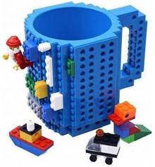 Кружка LEGO конструктор (синяя) купить в интернет магазине подарков ПраздникШоп