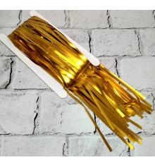 Шторка из фольги для фотозоны (золото) купить в интернет магазине подарков ПраздникШоп