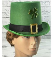 """Шляпа-цилиндр """"Патрик"""", фетр купить в интернет магазине подарков ПраздникШоп"""