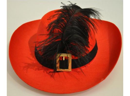 капелюх мушкетери купить в интернет магазине подарков ПраздникШоп