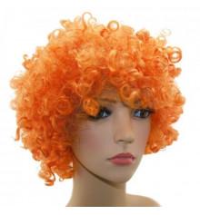 Парик клоуна (диско) оранжевый купить в интернет магазине подарков ПраздникШоп