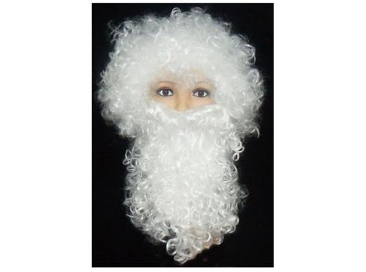 """Набор """"Деда Мороза"""" (парик+борода) купить в интернет магазине подарков ПраздникШоп"""