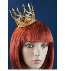 Корона Принцессы (золото) купить в интернет магазине подарков ПраздникШоп