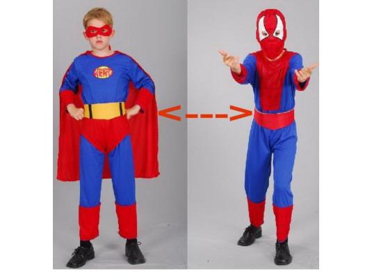 """Карнавальный костюм 2 в 1 """"Спайдермен/Супермен"""" купить в интернет магазине подарков ПраздникШоп"""