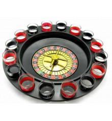 Рулетка застольная (с рюмками) купить в интернет магазине подарков ПраздникШоп