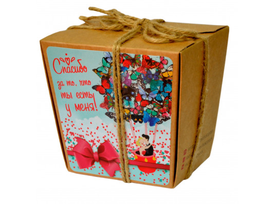 """Печеньки с предсказаниями """"Спасибо за то что ты есть"""" купить в интернет магазине подарков ПраздникШоп"""