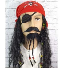 Борода с косичками и усы купить в интернет магазине подарков ПраздникШоп