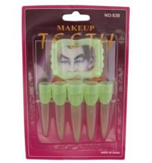 Зубы + когти светонакопительные купить в интернет магазине подарков ПраздникШоп