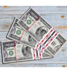 Пачка денег по 1 000 000 долларов купить в интернет магазине подарков ПраздникШоп