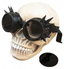 Очки Стимпанк Гогглы с шипами (черные) купить в интернет магазине подарков ПраздникШоп