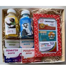 Подарочный набор «Веселая аптечка» купить в интернет магазине подарков ПраздникШоп
