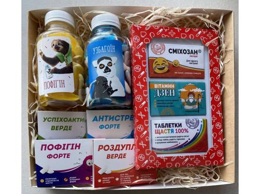 Подарунковий набір «Весела аптечка» купить в интернет магазине подарков ПраздникШоп