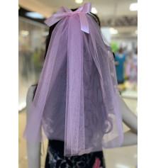 Фата для дівич-вечора, 45 см (рожева) купить в интернет магазине подарков ПраздникШоп