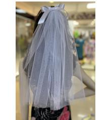 Фата для дівич-вечора, 45 см (біла) купить в интернет магазине подарков ПраздникШоп
