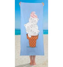 """Полотенце """"Милое мороженое"""" купить в интернет магазине подарков ПраздникШоп"""