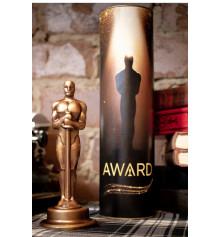 Шоколадный Оскар в тубусе купить в интернет магазине подарков ПраздникШоп