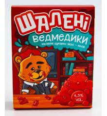 Желейні ведмедики на основі віскі зі смаком віскі-кола купить в интернет магазине подарков ПраздникШоп