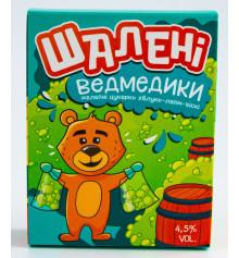 Желейні ведмедики на основі віскі зі смаком яблоко-лайм купить в интернет магазине подарков ПраздникШоп