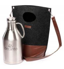Гроулер-термос для пива 1,9 л. з сумкою купить в интернет магазине подарков ПраздникШоп