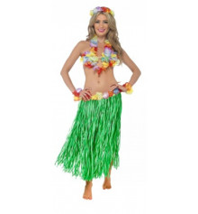 Костюм гавайский с длинной юбкой купить в интернет магазине подарков ПраздникШоп