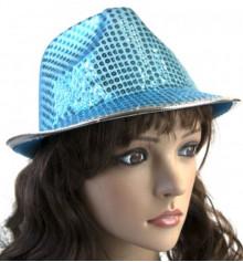 Капелюх Диско Твіст (блакитна) купить в интернет магазине подарков ПраздникШоп