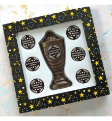 """Шоколадный набор """"Кубок с номинациями лучшей маме"""" купить в интернет магазине подарков ПраздникШоп"""