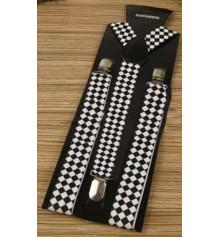 Подтяжки (черно-белые) купить в интернет магазине подарков ПраздникШоп